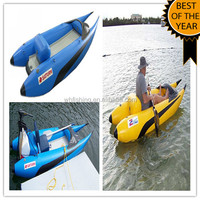 2014 CE Certification and PVC Hull Cheap Custom Design New Tug Dredging Small Pontoon Boats