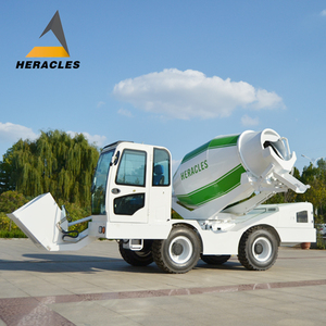 Diesel Mobile Self-Loading Concrete Mixer with pump high quality and CE