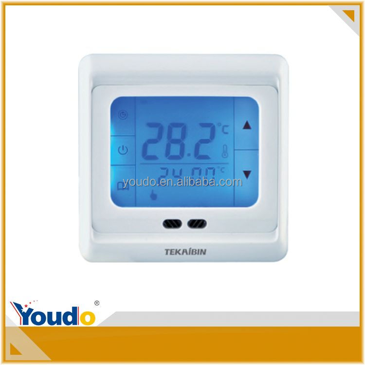 Safe 5.6 Inch Heating Thermostats Touch Screen