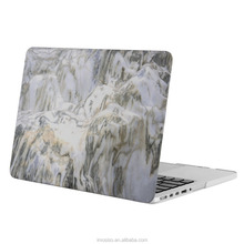 Mosiso water-transfer laptop case for macbook , custom design covers marble laptop hard case cover 2016
