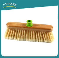 Toprank Eco-friendly Bamboo Brooms And Brushes Road Street Floor Sweeping Broom Brush Without Handle