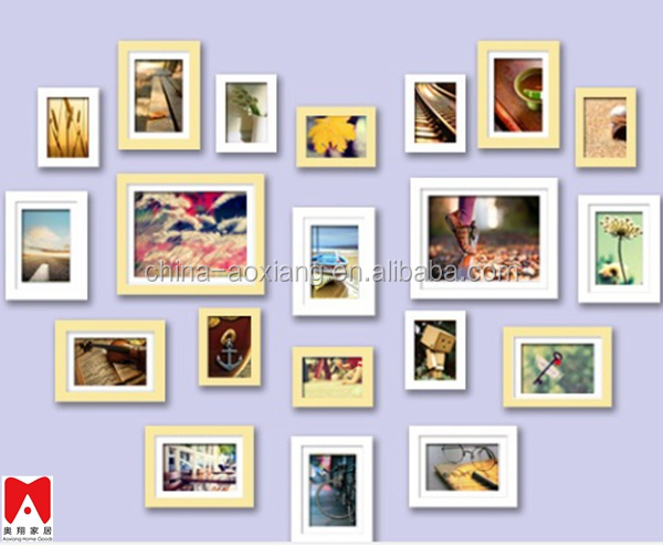 2014 hot sale Chinese new western style picture frame mother of pearl home decor