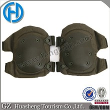 Drab Olive green Impact Skate Knee & Elbow Protective Pads set wholesale