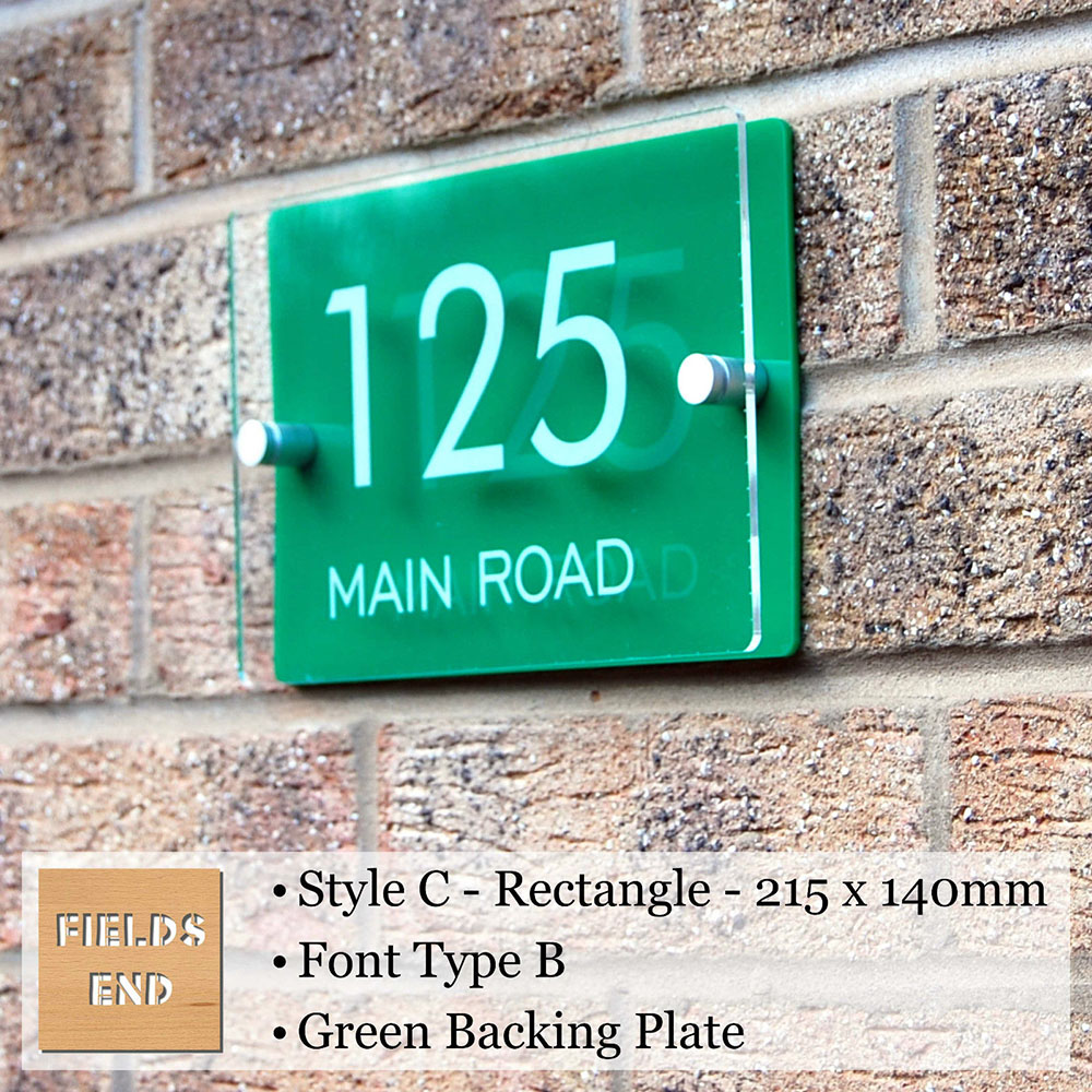 Acrylic Door Plaque Sign , Perspex House/Apartment/Flat Door /Adress/Street Door Number Plate