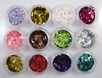 uv gel colorful glitter wholesale craft glitter sequins flakes glitter powder