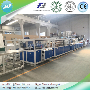 PP building board extrusion line