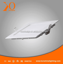 Insert Super bright ultra slim square surface mounted led panel light, slim led panel 24W using as led ceiling light