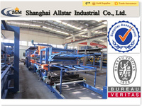 Metal Building Material Light Weight EPS Sandwich Panel machine
