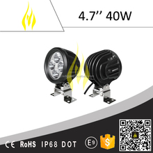 "4.7"" 40W led work light car for off road 4x4 4WD"