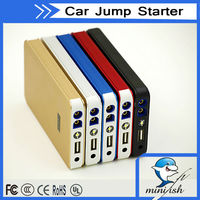 MiniFish New Design 8000mAh 400A 12V Emergency Tools Portable Mini Auto Jump Starter For gasoline and diesel Car