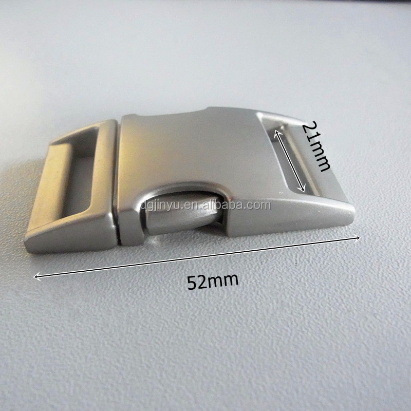 Dongguan factory priced newest gunmetal buckles for dog collar /pets buckles/safe metal buckles