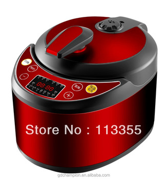 home appliances stainless steel color coating muilt-function cylindric type electric pressure cooker