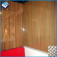 architectural wall wire mesh curtain metal drapery