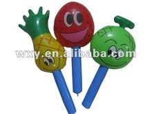 wholesale price small inflatable toys for kids (fruits)