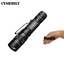 Camping Hiking Walking Climbing Super Bright Strong Light Telescopic Zoom 3 Modes 14500/AA Battery Q5 Mini Led Torch Flashlight