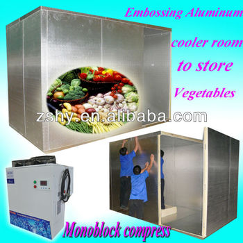 Cool room to store Fruits and vegetables (5 Celsius degree)