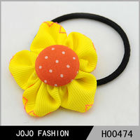 Big fabric baby handmade flower hairband/headband