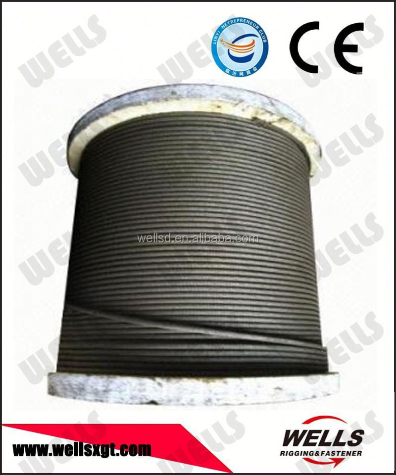 Wells manufacturer non rotating steel wire ropes