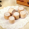 Wooden Rubber Stamps Beautiful Flower Cartons