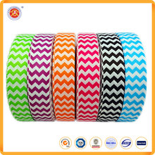 Wholesale custom all kinds of 100% satin Polyester decorative pattern Grosgrain Ribbon