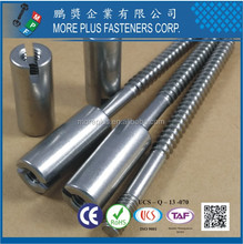 Made in Taiwan Stainless Steel Hanger Bolt with Special Spacer Nut