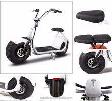 2017 new products big two wheels citycoco 1000W 60V electric scooter,electric motorcycle