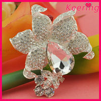 jewelry cheap metal crystal brooches in bulk WBR-1395
