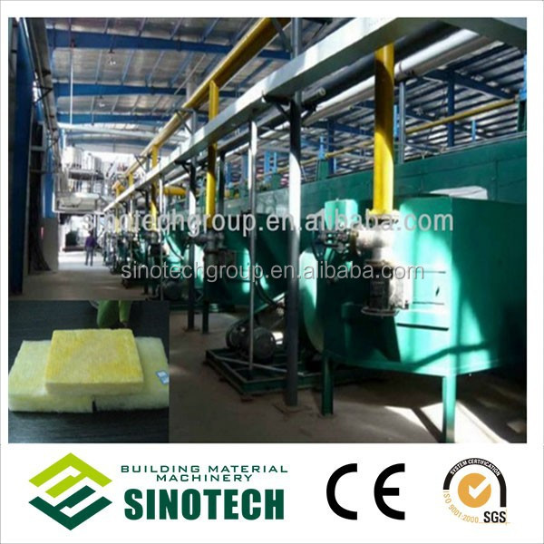 Equipment for the production of Glass Wool with Aluminium Foil
