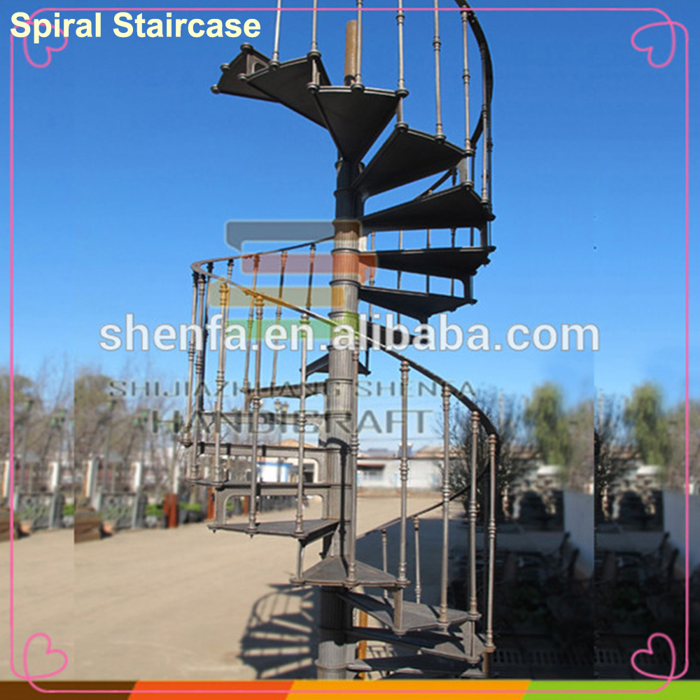 cheap modern used metal stairs