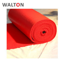 wholesale Comfortable coil pvc raw material white carpet for wedding