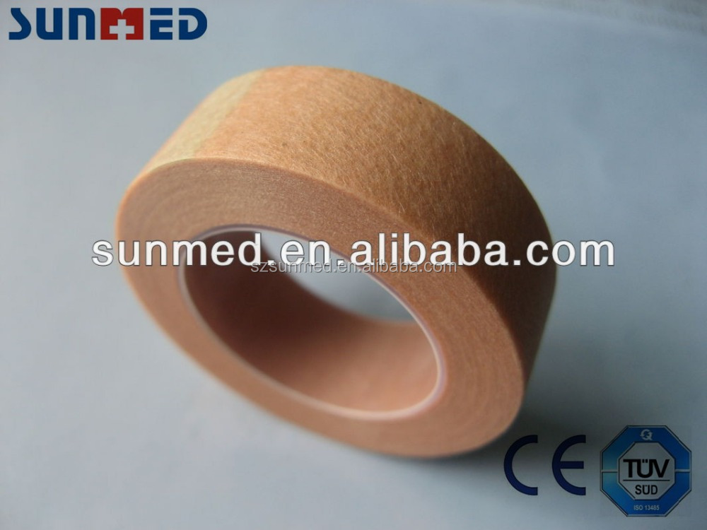 Skin color surgical tape