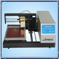 Computer controlled hot foil stamping machine, adl 3050C for plastic,pvc,gift cards,leather bookcover