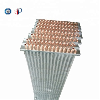 Refrigeration display cabinet evaporator coil