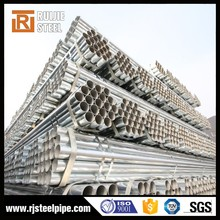 1.6 mm thickness galvanized steel pipe,thin wall galvanized steel pipe 6 inch