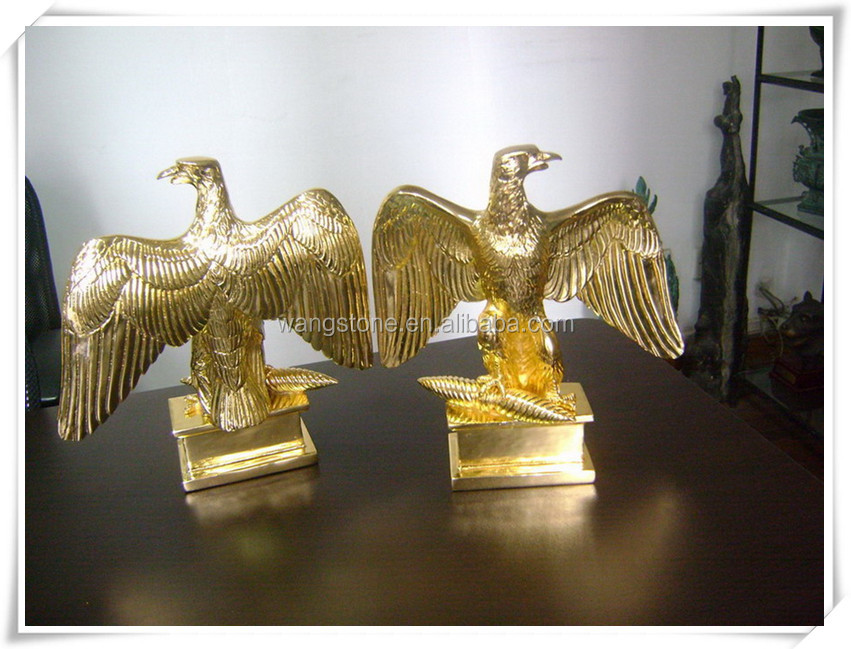 High grade lifelike eagle decorative bronze sculpture