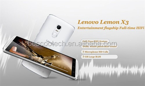 "Original Lenovo Lemon X3 C50 4G LTE Cell Phone Android 5.1 Snapdragon 808 Hexa Core 3GB RAM 32GB 5.5"" 1920x1080 21MP Camera"