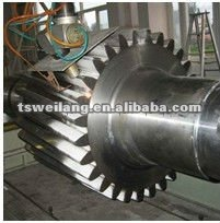 forged spur gear shaft