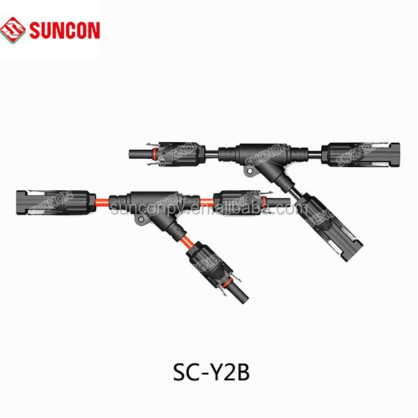 solar branch wire assembly mc4 connector with 2 5  4 0  6