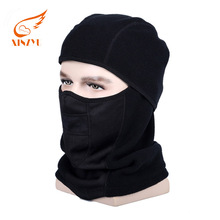 Windproof Cycling Winter Military Face Mask Hats Neck Warmer Polar Fleece Balaclava