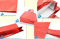 Newest non woven metallic cloth bag, nonwoven shopping bag