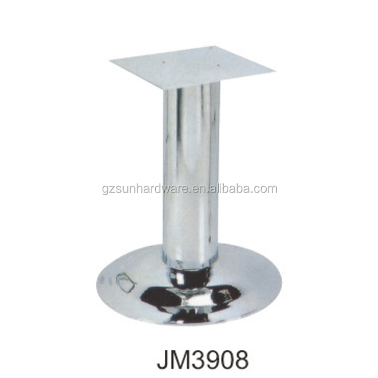 Furniture Legs Short restaurant round table legs brushed stainless steel dining table