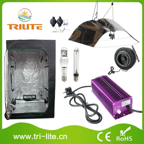 Indoor plants growing kit 600w hydroponic grow tent complete kit