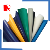 2015 1000d pvc coated mesh tarpaulin fabric, hot sale hardy polyester double-sided pvc tents fabric