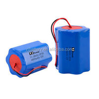 12v 6ah motorcycle batter YJ18650-3s-2p 4400mAh lithium battery with 54*54*67mm size for GPS,mobile scales, R/C toys, robot