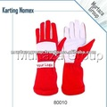 Karting gloves Bright Red