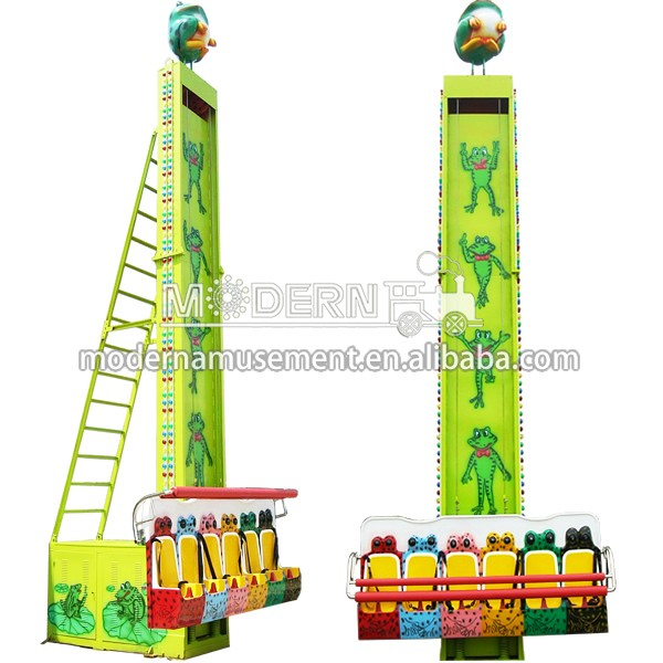 Modern China frog jumping amusement equipment attraction outdoor kids ride for sale