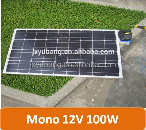 100w 12v Solar panel for battery battery charger solar module photovoltaic pv panel