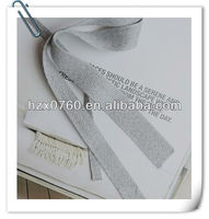 100% Cotton hand work ribbon embroidery for lunch bag