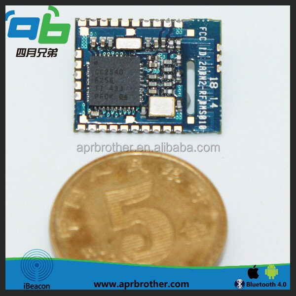 BLE bluetooth module for ios and android with UUID programmable for sports