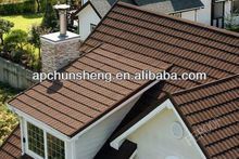 anti-fade colorful stone coated metal roof tile/ harvey metal roofing tiles/eco safe metal roof tiles sheet
